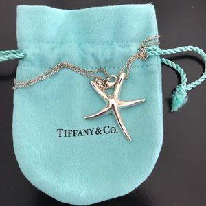 Tiffany Elsa Peretti Starfish Pendant